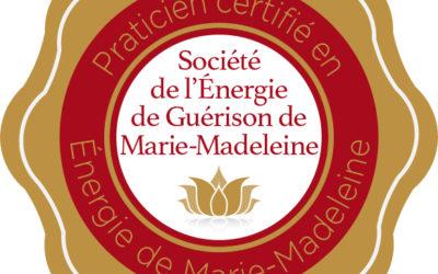 Praticien certifié en Energie de Guérison de Marie-Madeleine