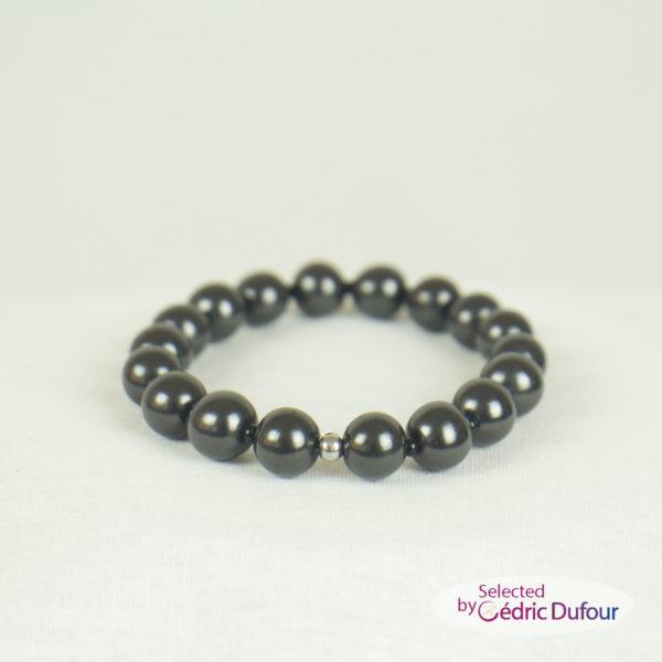 Bracelets-perles shungite pour poignets et chevilles