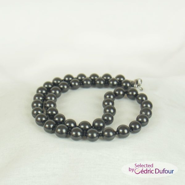 Shungite Collier perle