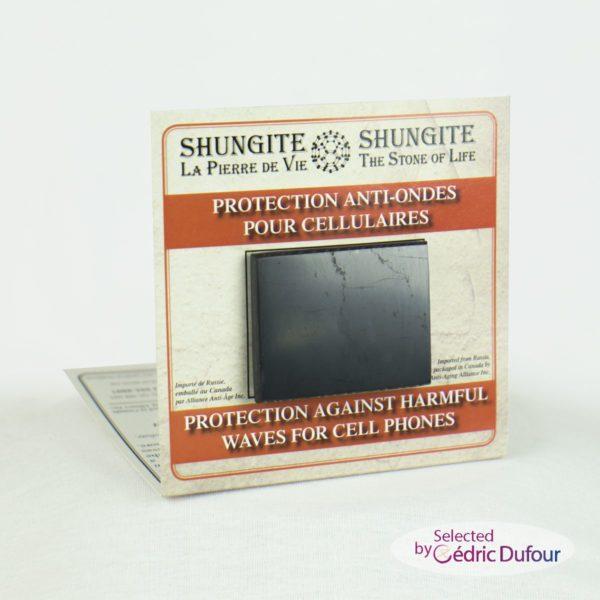 Shungite Protection anti-ondes pour téléphone cellulaires et gsm et sans fils